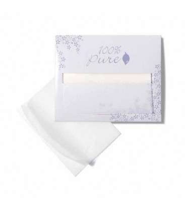 ANTI-BACTERIAL WOOD PULP & HEMP OIL BLOTTING PAPER
